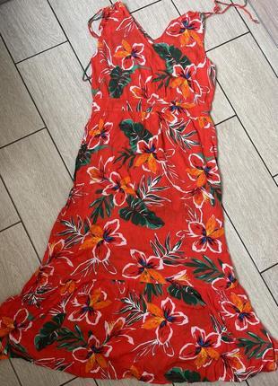 Натуральное платье размер 14