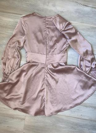 Ніжно рожева сукня розмір uk 10 misguided3 фото