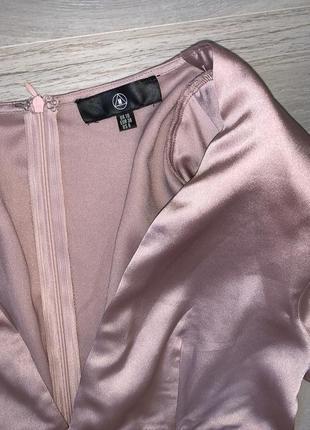 Ніжно рожева сукня розмір uk 10 misguided2 фото