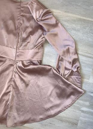 Ніжно рожева сукня розмір uk 10 misguided4 фото