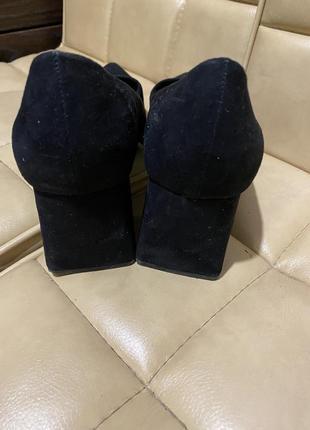 Туфли лодочки замшевые new look8 фото
