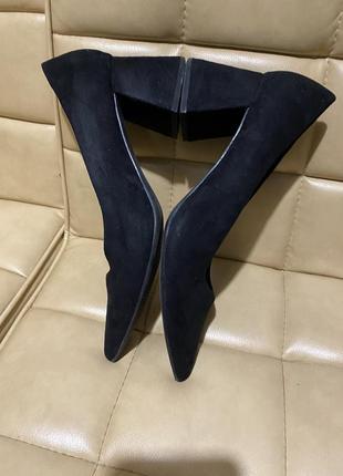 Туфли лодочки замшевые new look7 фото