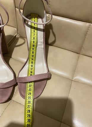 Glamorous босоножки замшевые высокий каблук4 фото
