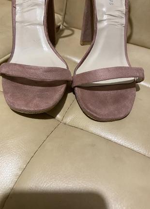 Glamorous босоножки замшевые высокий каблук6 фото
