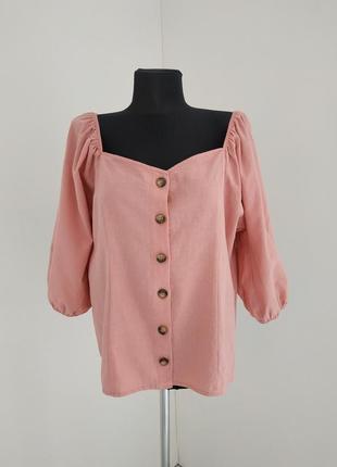Блуза с пышными рукавами f&f