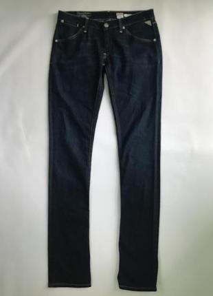 Модные синие джинсы, replay - pattie original. италия. 38, 40 евро