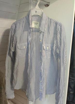 Рубашка arbercrombie&fitch