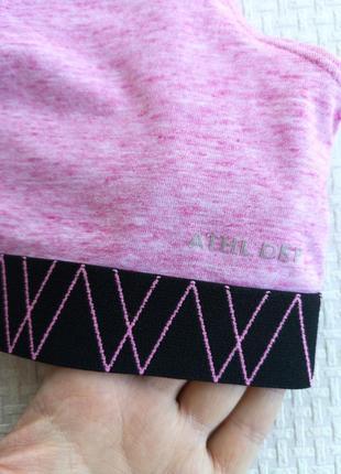 Хлопковый розовый кроп топ c&a m/l3 фото