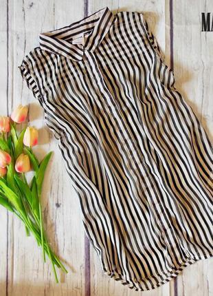 Топовая блузка в полоску от vero moda