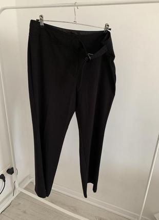 Штаны брюки черные