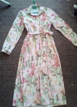 Стильное платье, р 44-46