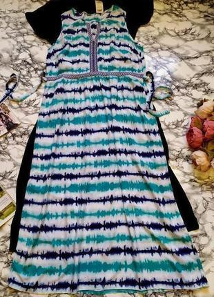 🔥🔥👗продано!!!красивое длинное вискозное платье с принтом размер 4xl-3xl