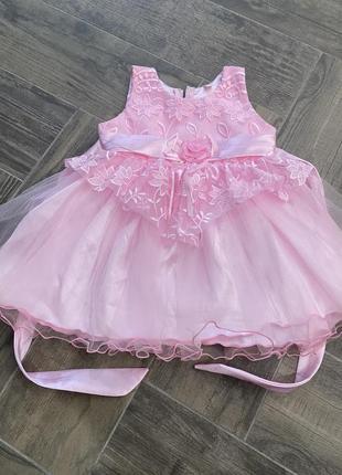 Нарядное платье как новое