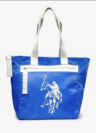 Сумка нейлон, пляжная сумка u.s.polo assn оригинал
