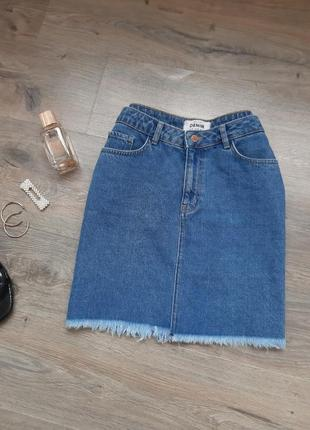 Джинсовая юбка. джинсова спідниця