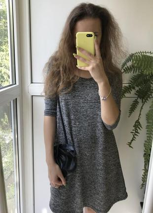Платье свободного кроя от terranova