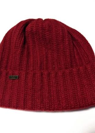 Barbour брендовая шапка шерстяная   англия