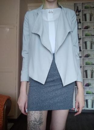 Укороченный пиджак.