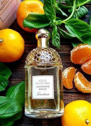 Популярний  сочний літній аромат  aqua allegoria mandarine basilic  розпив оригіналу