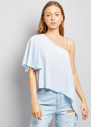 1+1=3 асимметричная легкая блуза