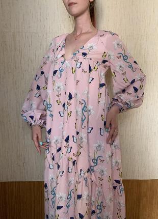 Шикарное платье borgo de nor