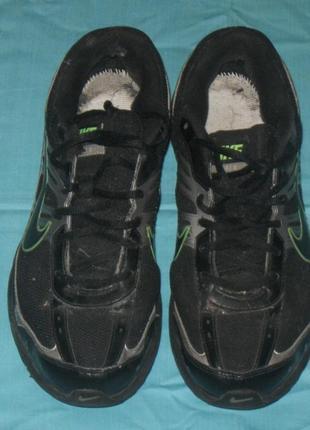 Кроссовки мужские на шнурках, чёрные, nike. размер – 45 стелька – 29 см