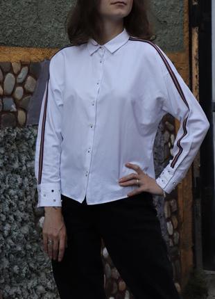Базова рубашка білого кольору 🤍