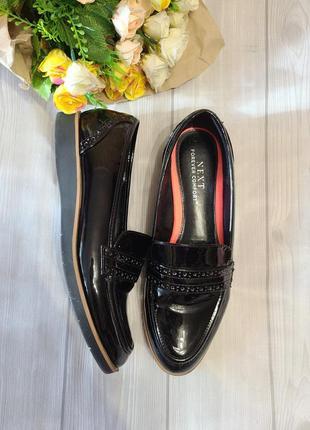 Туфли женские лаковые next