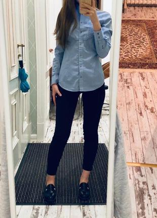Чёрные штаны slim fit