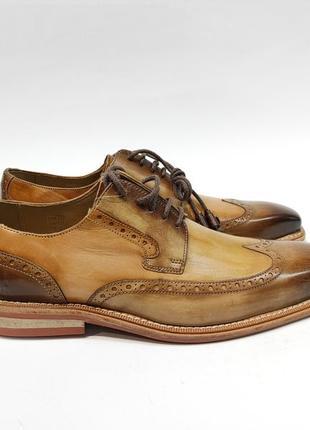Туфлі melvin& hamilton шкіра туфли кожаные нові оригінал