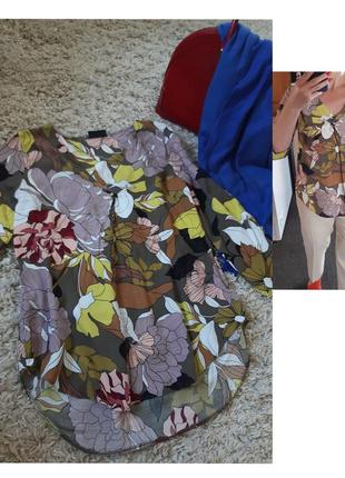 Шикарная легкая блуза , вискоза, canda, p. 38-40