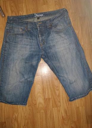 Шорты  джинсовые на болтах 100%коттон 36 р .(16р)