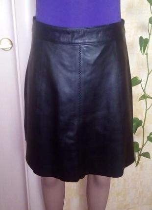 Роскошная юбка из 100 % лайковой кожи/юбка/кожаная юбка/платье/