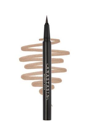 Маркер для микро строкинга для бровей anastasia beverly hills brow pen