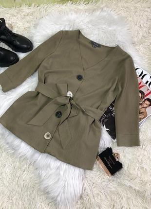 Блуза з поясом