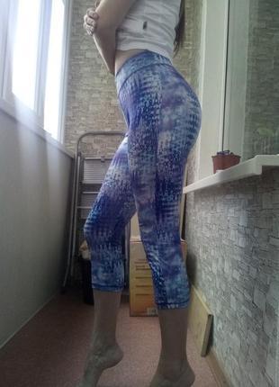 Спортивные лосины леггинсы тайтсы штаны