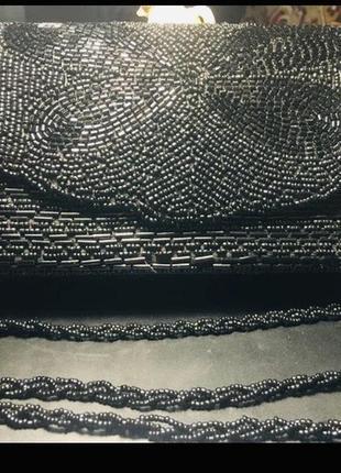Стильный бисерный клатч1 фото