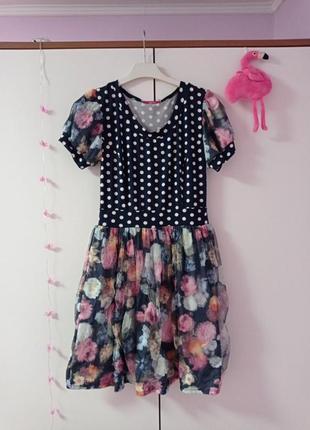 Плаття з фатіном розміру 46