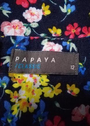 Дуже гарна блузка (льон 52%, віскоза 48 %)6 фото