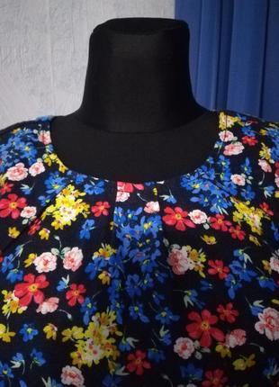 Дуже гарна блузка (льон 52%, віскоза 48 %)2 фото