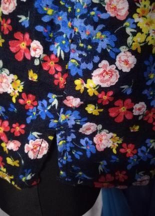 Дуже гарна блузка (льон 52%, віскоза 48 %)5 фото