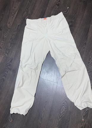 Лёгкие брюки штаны спортивные  hugo boss,котон