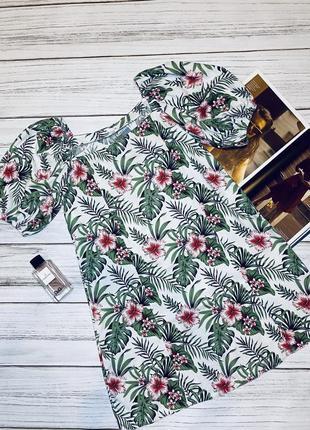 Платье , платье в цветочный принт