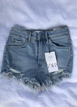Шорты джинсовые зара zara