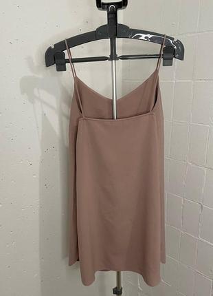 Нюдовое платье2 фото