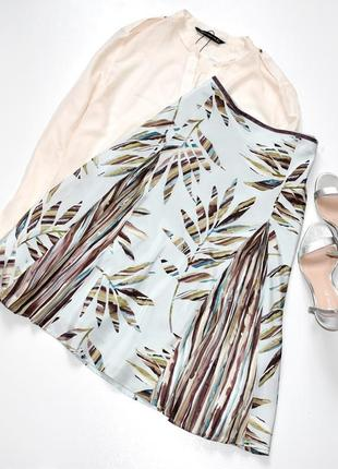Principles petite роскошная шелковая юбка а-силуэта с принтом