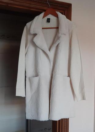 Шикарный кардиган пальто шубка жакет