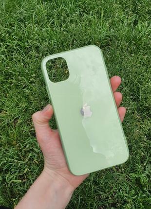 Глянцевый чехол для айфон iphone 11 pro