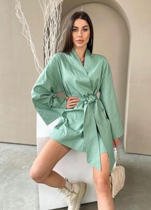 Плаття халат кімоно