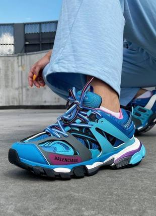 Хит женские кроссовки демисезонные голубые